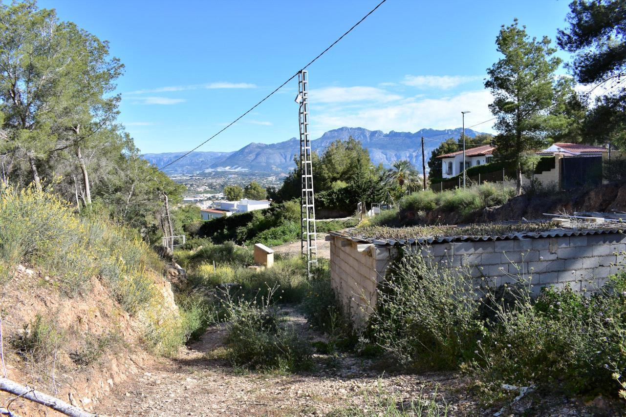Parcela urbana en el Albir