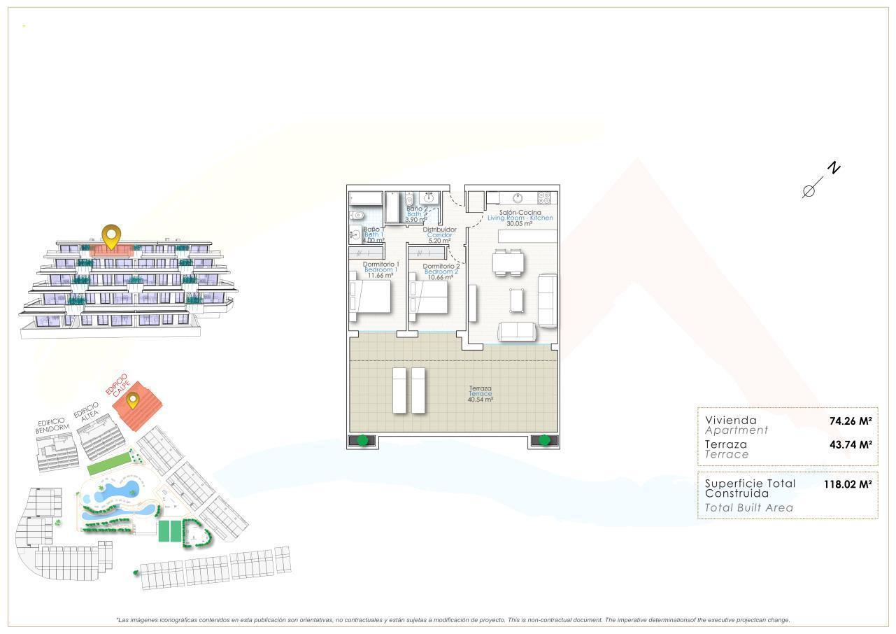 Atico de nueva construccion en Finestrat