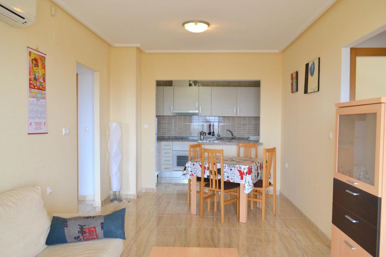 Fantastico apartamento con vistas al mar en Benidorm