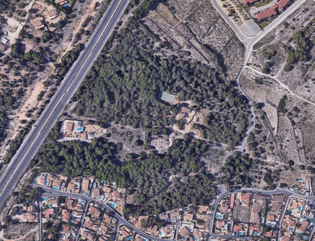 Terreno rustico en Alfaz del Pi