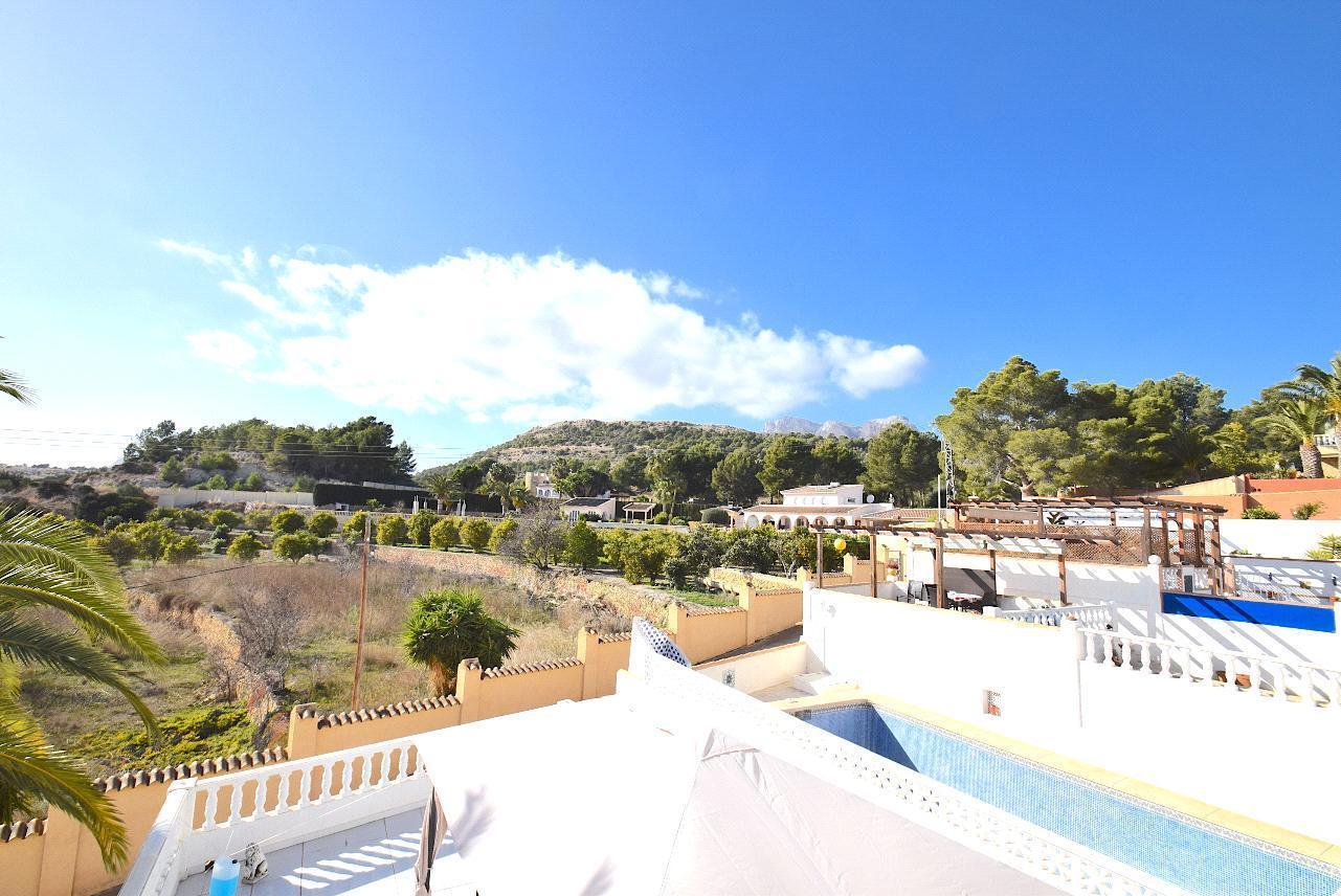 Bungalow con fantasticas vistas en Alfaz del Pi