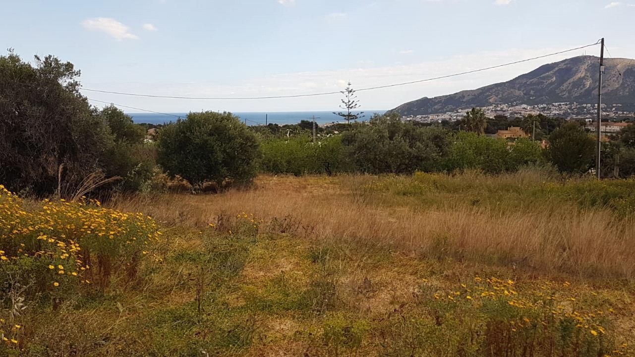 Terreno rustico con vistas panoramicas al mar en Alfaz del Pi