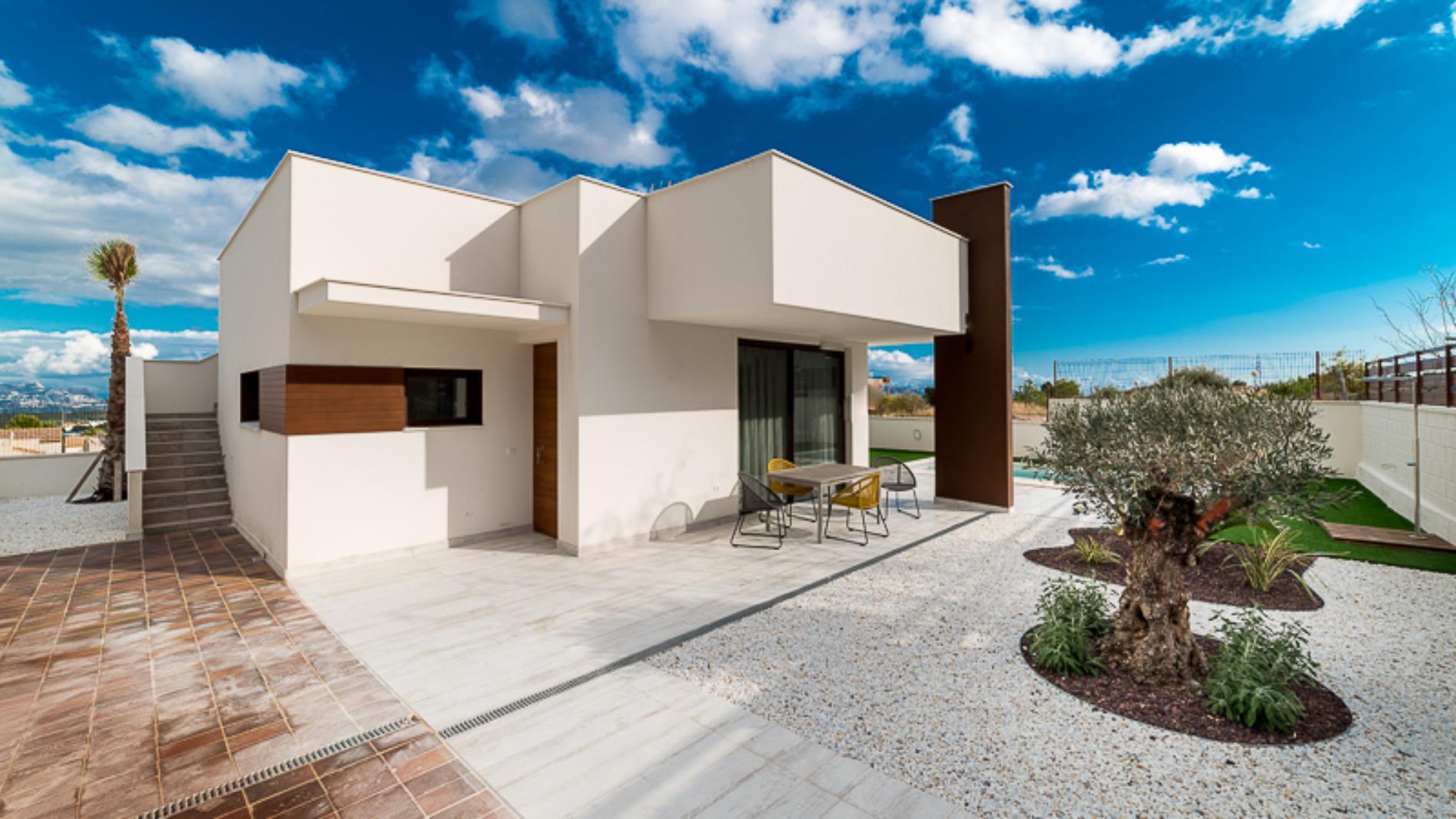 Chalet | Villa en venta en Polop, de obra nueva