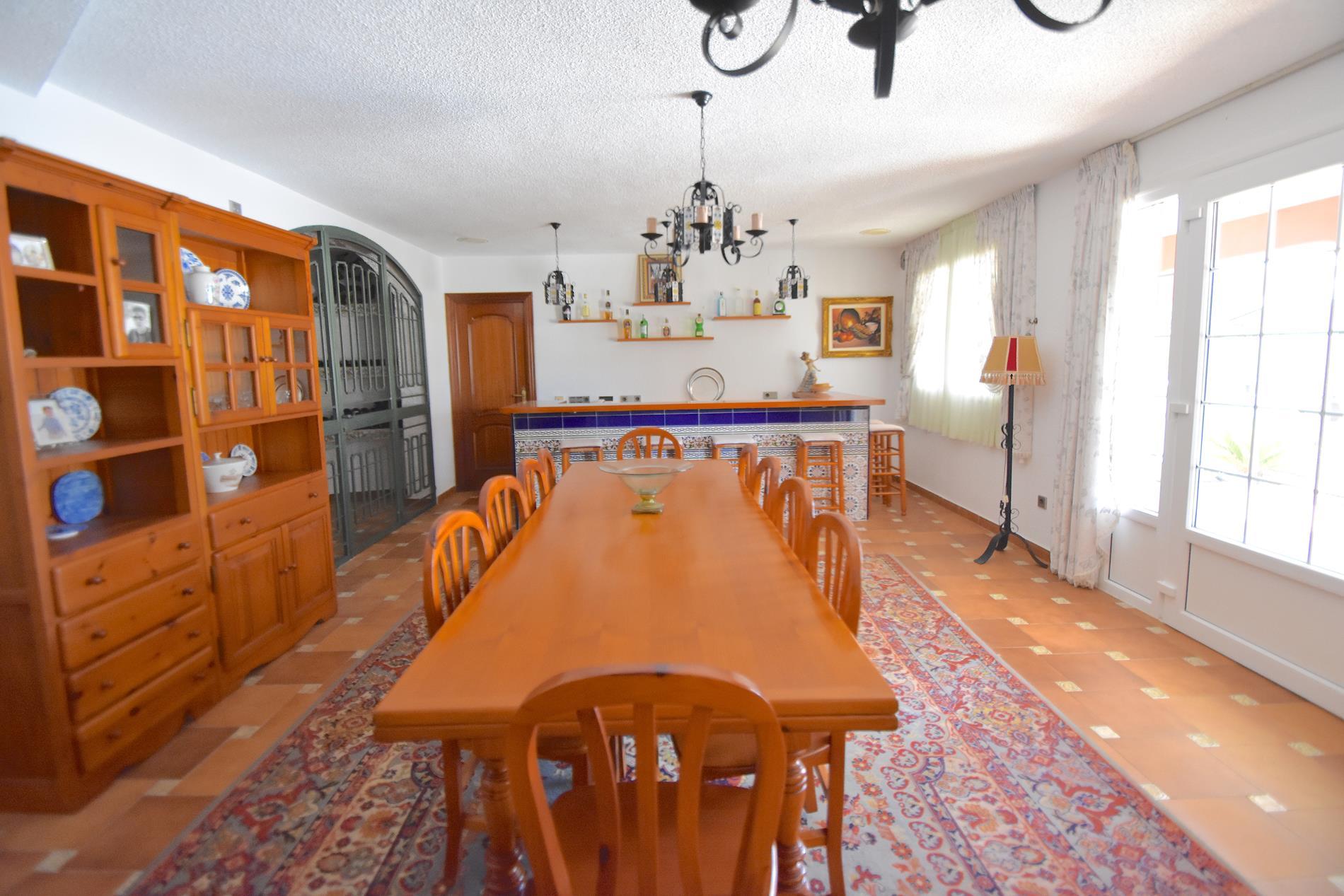 Colonial style chalet in La Nucia
