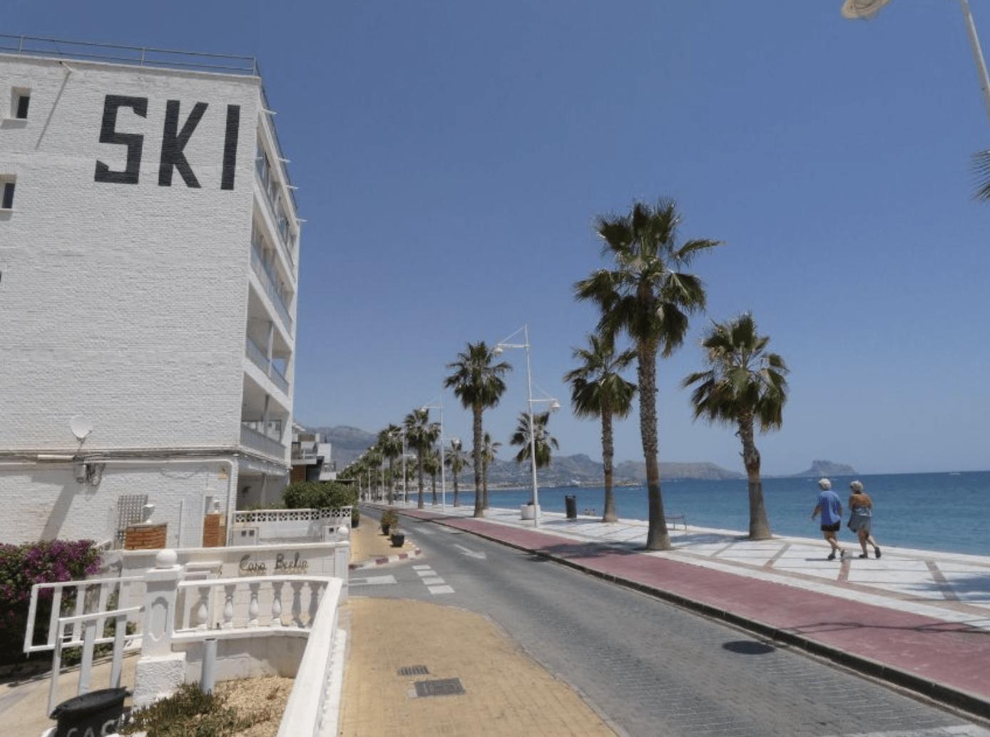 Apartamento en primera linea de la playa de Altea
