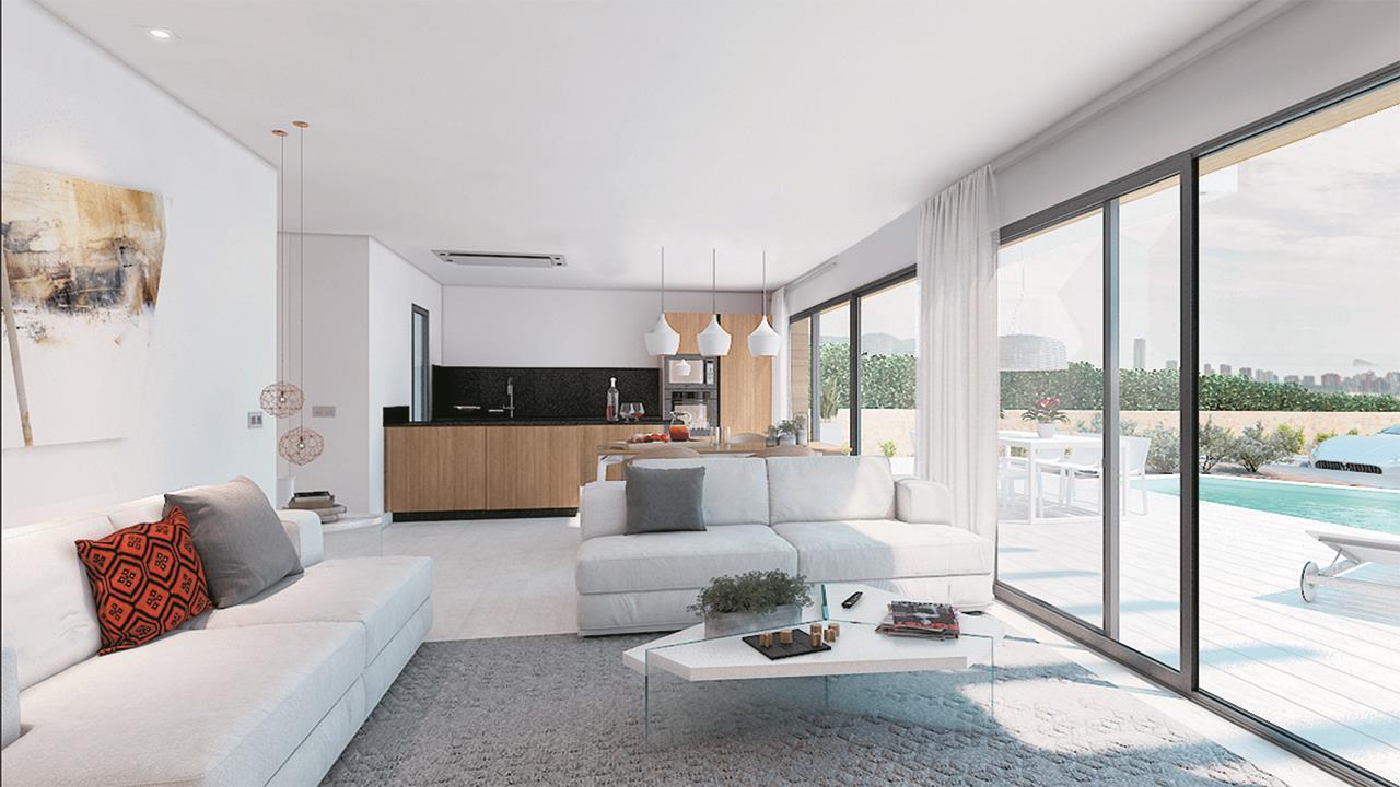 Chalet | Villa en venta en Finestrat, acabado de lujo
