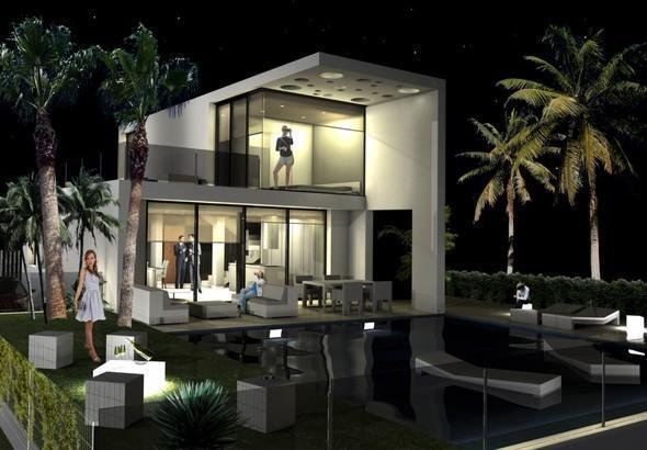 Chalet | Villa en venta en Finestrat, de reciente construcción, materiales de alta calidad