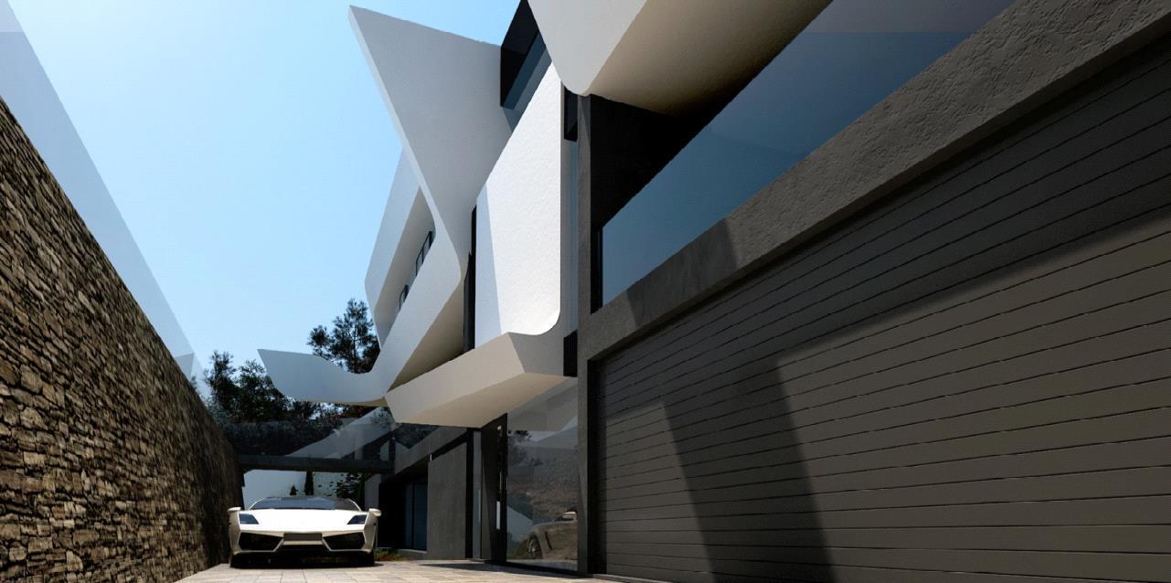 Chalet   Villa en venta en Altea de diseño moderno