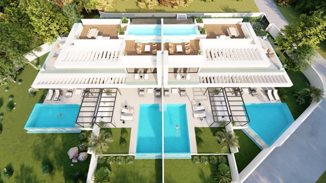 Apartamento de nueva construccion con piscina privada en Altea