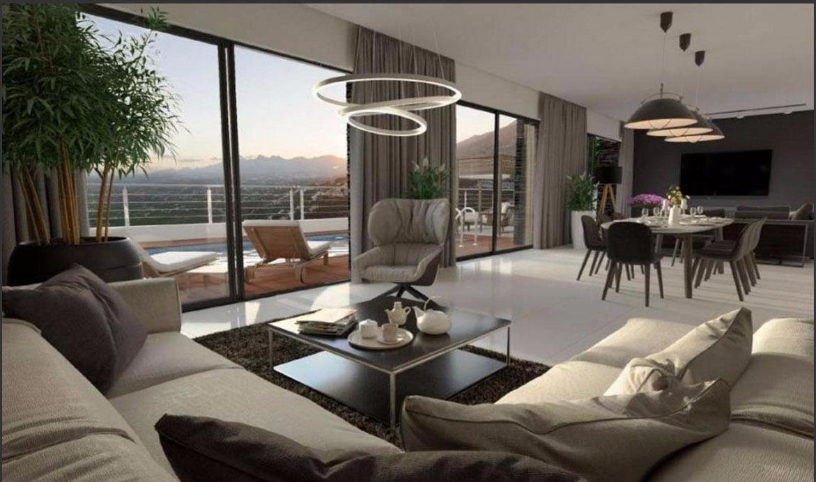 Chalet | Villa en venta en Altea,  con fantásticas vistas al mar
