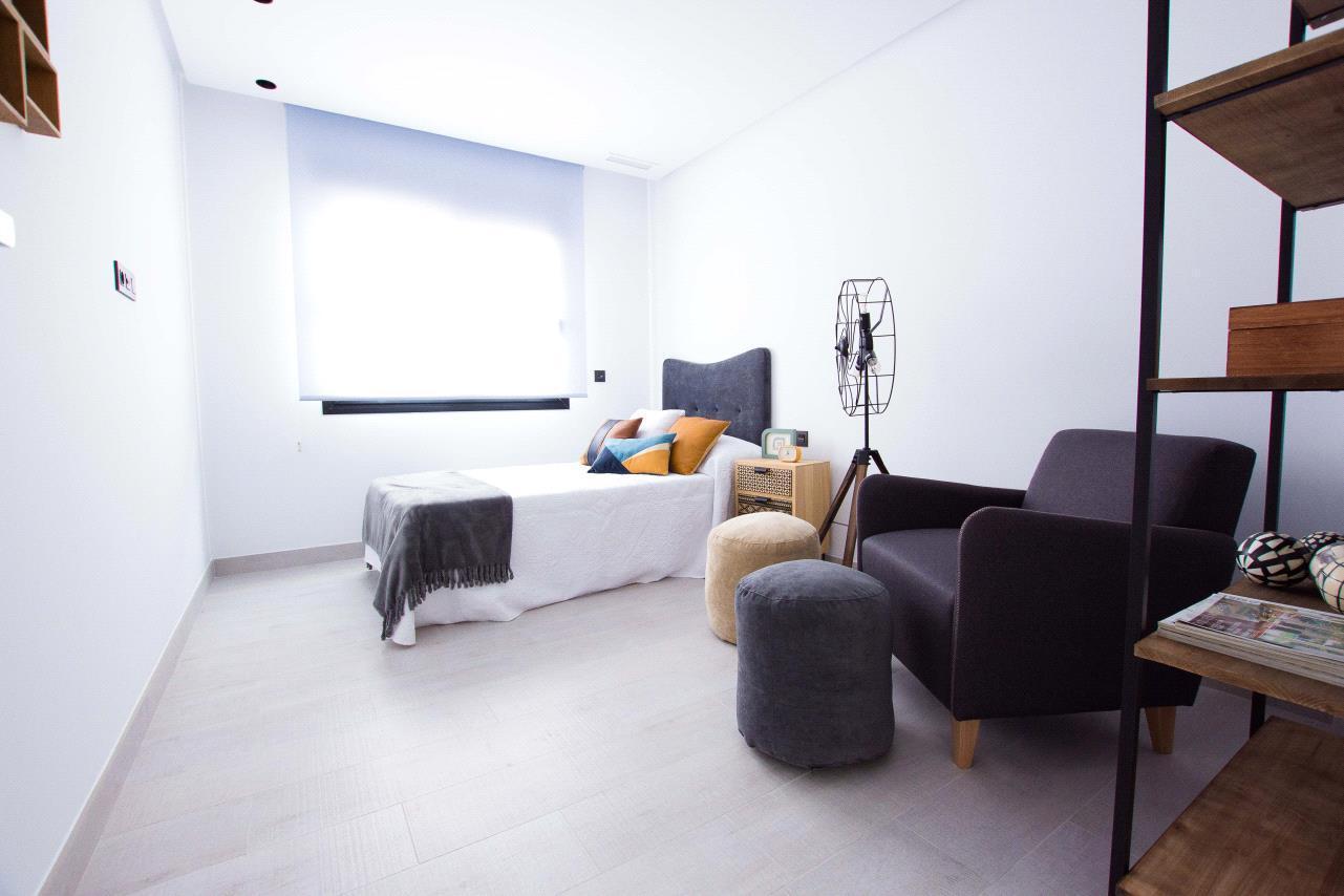 Chalet | Villa en venta en Finestrat, toda en un planta estilo moderno