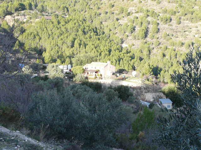 Chalet | Villa en venta en Guadalest con gran parcela