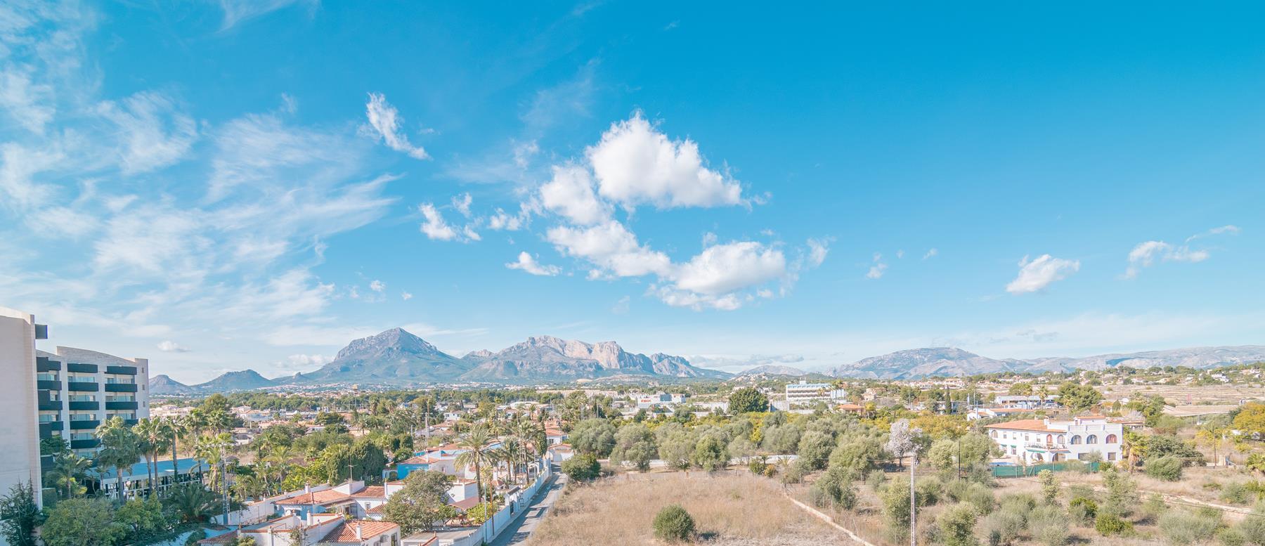 Atico en venta en Albir con vistas panoramicas