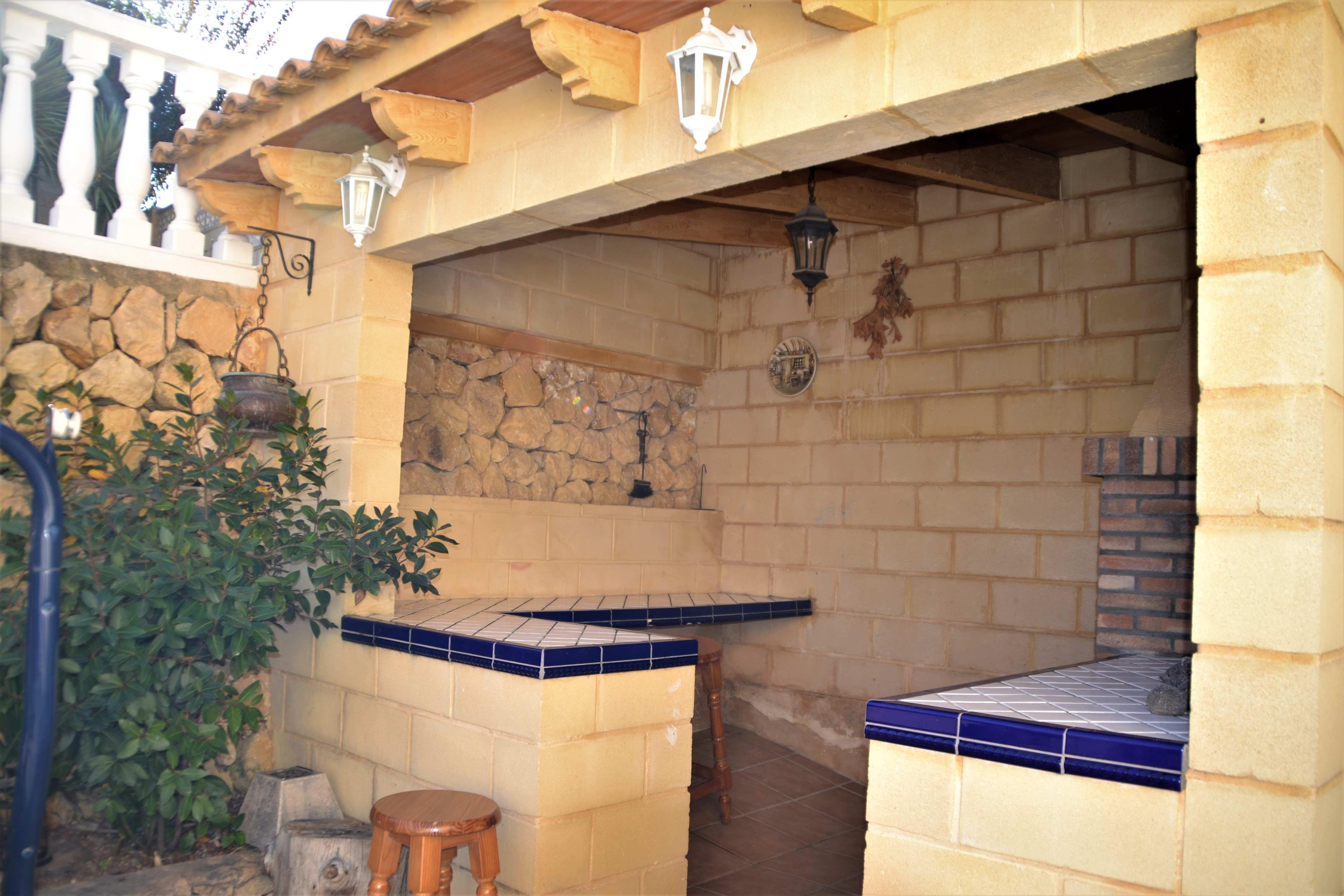 Chalet con piscina en Alfaz del Pi