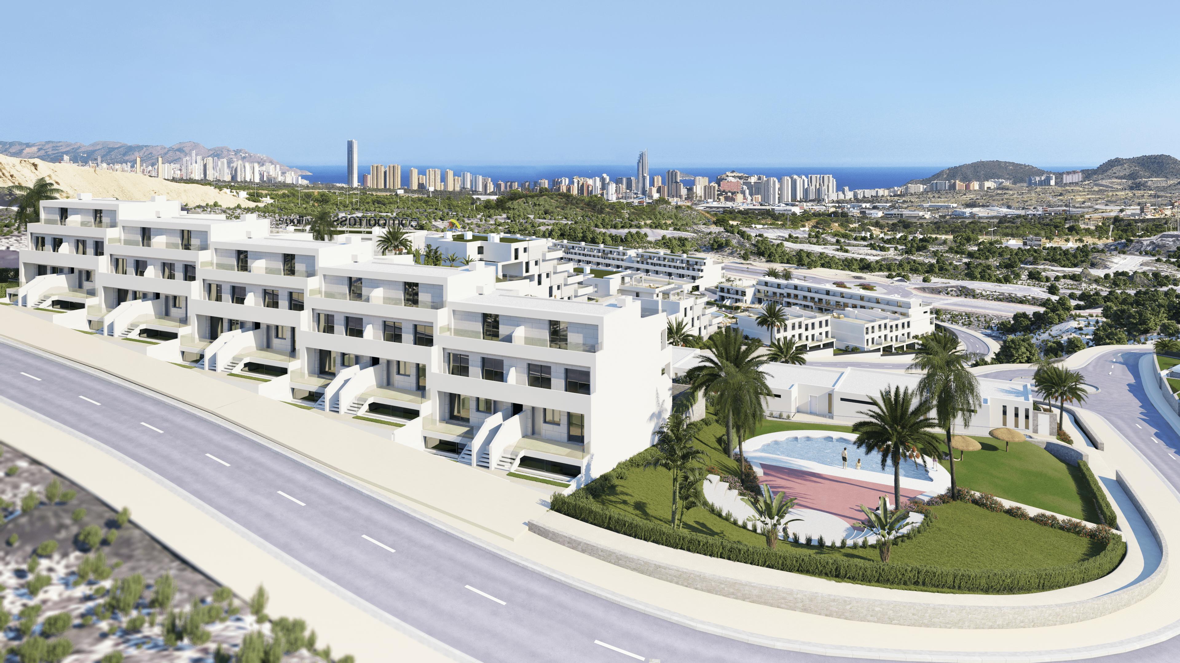 Duplex de nueva construccion en Finestrat