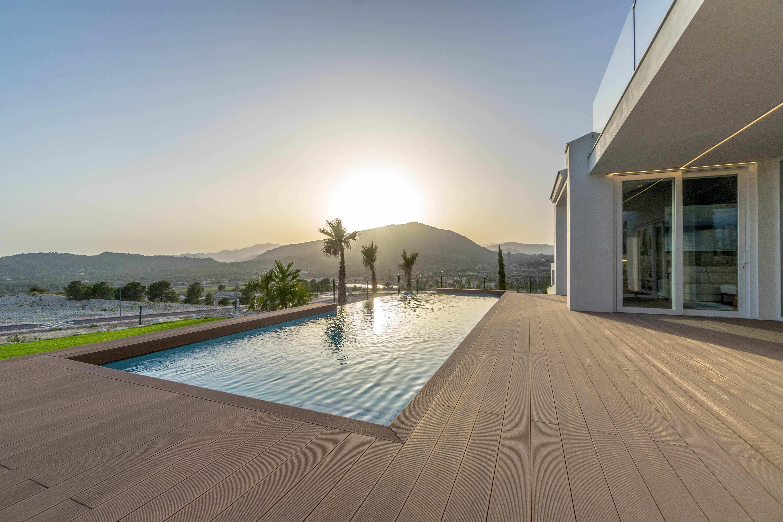 Magnifico chalet orientado al mar con fantasticas vistas en Finestrat
