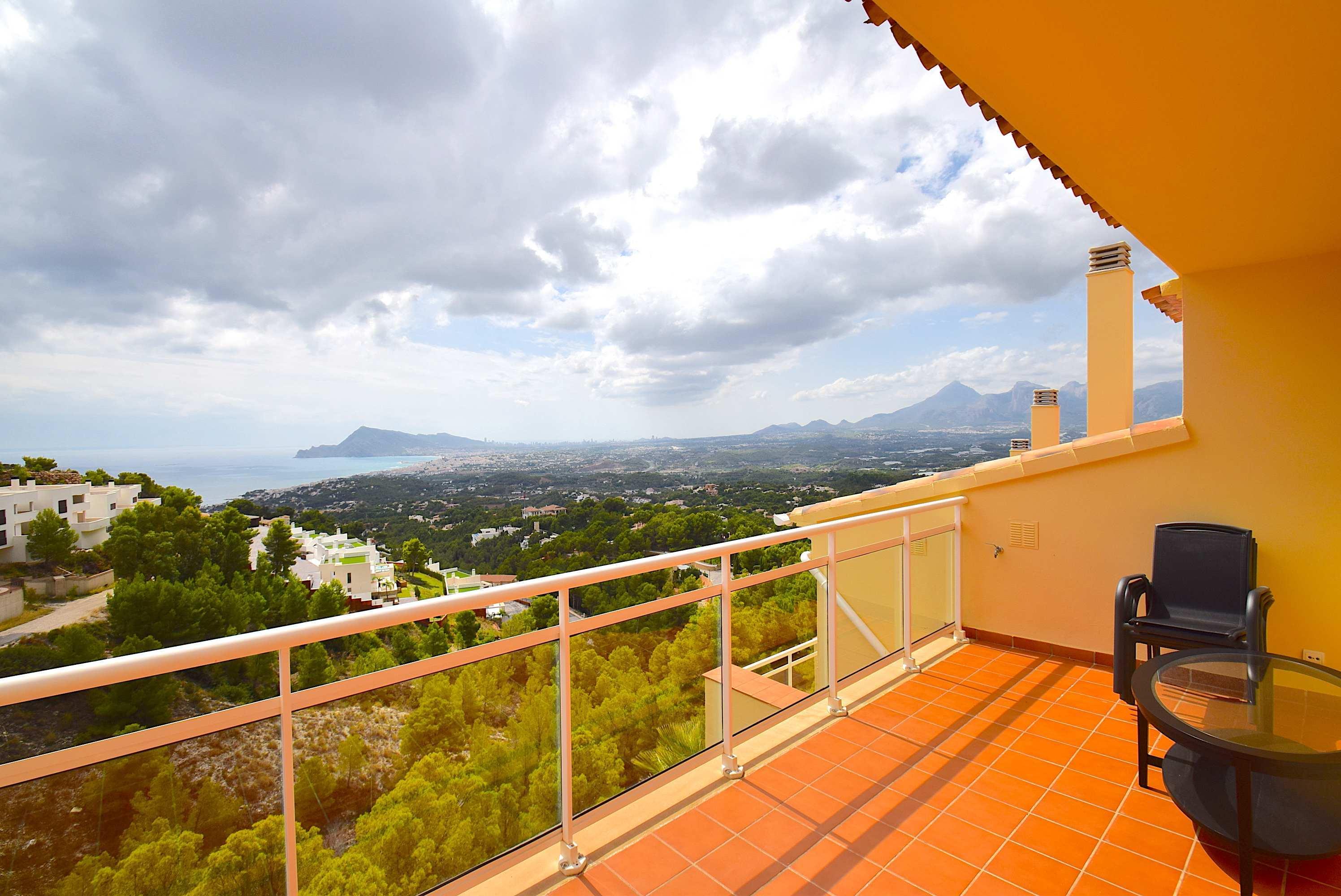 Bungalow con fantasticas vistas en Altea