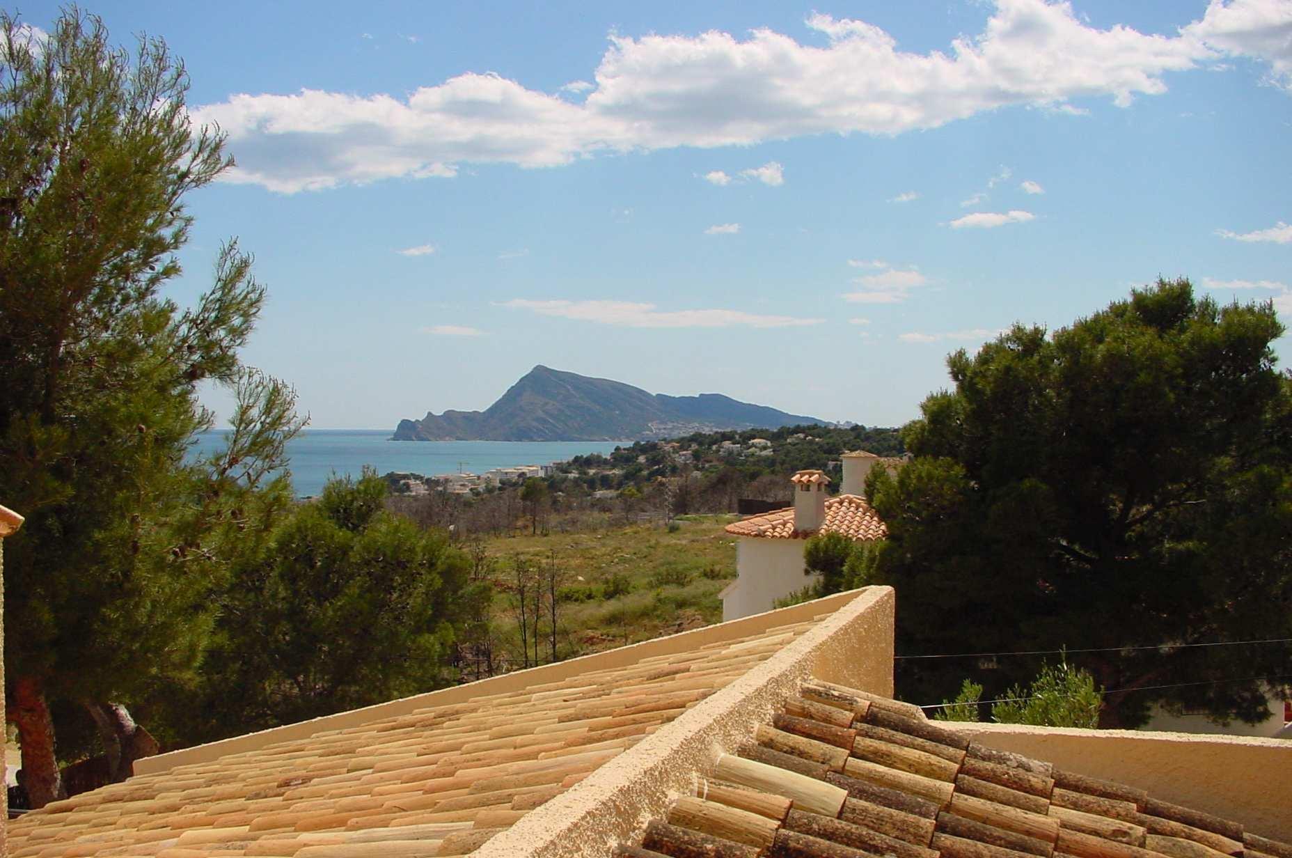 Chalet | Villa en venta en Altea, rustico con vistas al mar